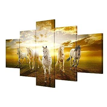 DSADDSD Leinwandbild Von Wohnzimmer, Leinwand Drucken   Foto   5 Stück +  Frame, Leinwand