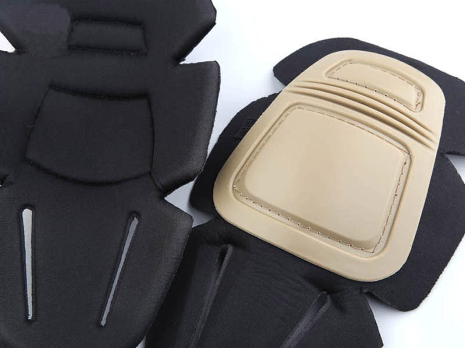 Men Army Military Equipment Airsoft Paintball Tactical Clothes Combat Gen 3 BDU Uniform Shirt Pants Knee Pad Multicam (S) by Uniform