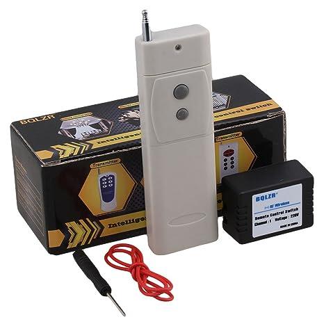 3fe003e183e BQLZR 220 V 433 MHz 1 canal RF relé inteligente inalámbrico de código de  aprendizaje inching