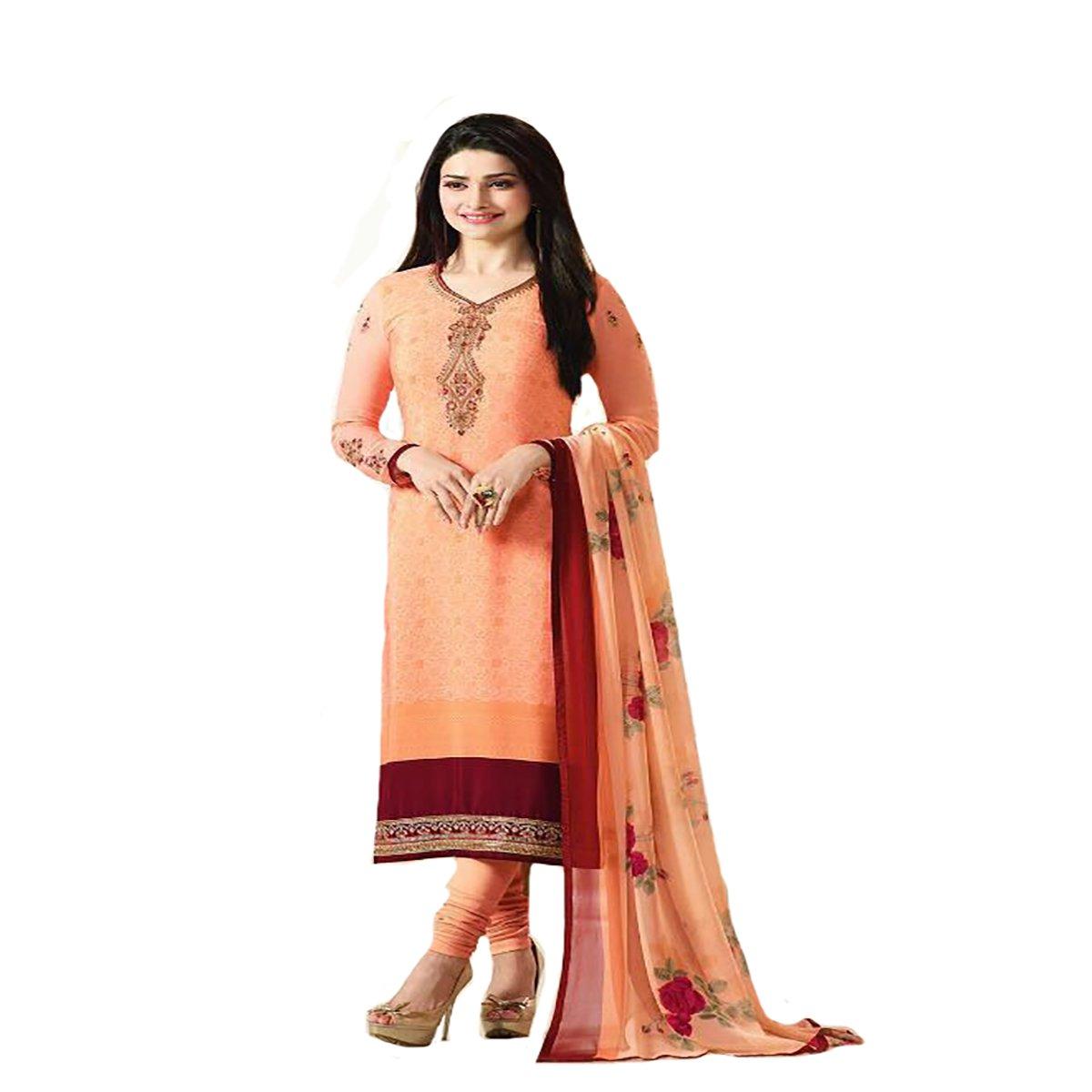 Straight Salwar Kameez Latest Formal Collection Women Dress Suit Party Wear 387