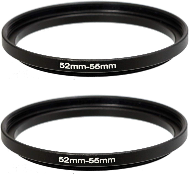 uxcell 55mm Circular Polarizing PL-CIR CPL Filter Black for Camera