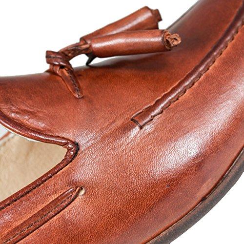 Hudson pierre tassel loafer Tan