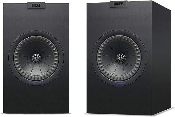 KEF Q150 Negro Altavoz - Altavoces (De 2 vías, 2.0 Canales, 51-28000 Hz, 8 Ω, Negro)