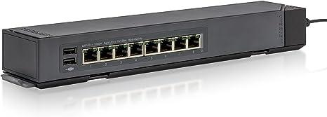 NEW NETGEAR ProSAFE 8-port Smart Managed Plus Gigabit Ethernet Click Switch