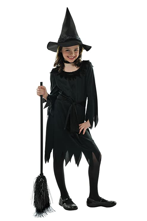 Vestiti Halloween Strega.Christy S Costume Per Bambina Da Strega Ideale Per La Notte Di Halloween