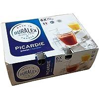Duralex Picardie Tumbler 22cl 7 3/4 OZ Set Of 6,1026A B06, Great Home Drinksware Accessory Range