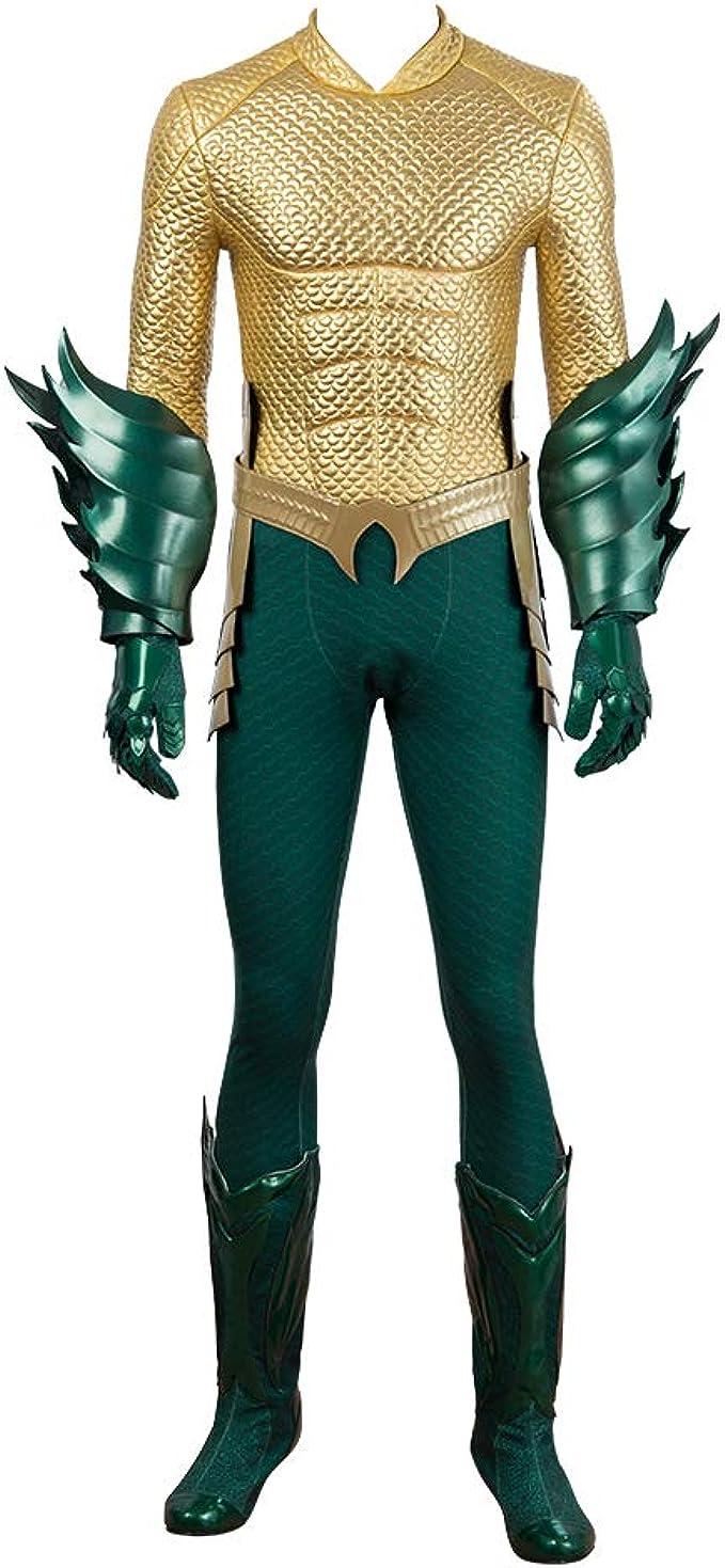 Aquaman Arthur Curry Orin Cosplay Disfraz Halloween Conjunto ...