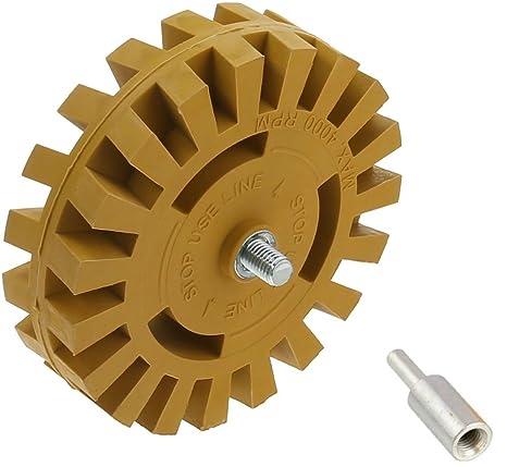 DocaDisc, kit de herramientas de goma para taladros eléctricos de 10,16 cm para