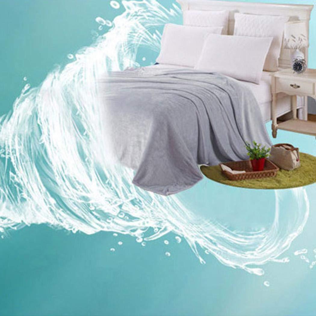 amiubo Couverture Simple et Confortable pour climatiseur de Bureau 70 cm x 100 cm Gris argenté