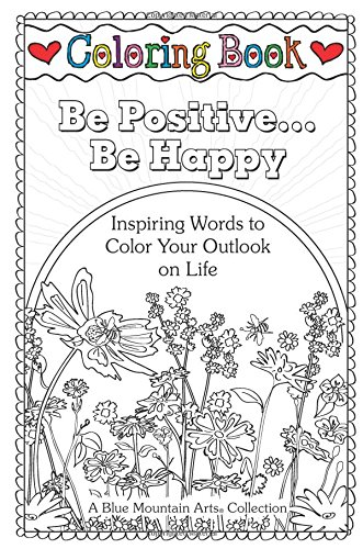Download Coloring Book: Be Positive... Be Happy pdf epub
