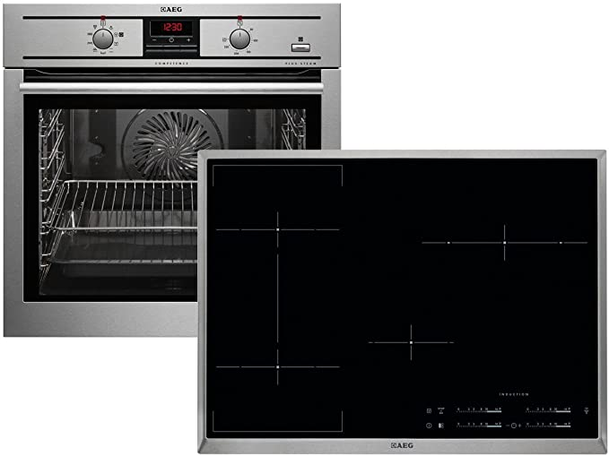 AEG psb35888 Set Plus Team del Horno be3003501 m + Inducción ...