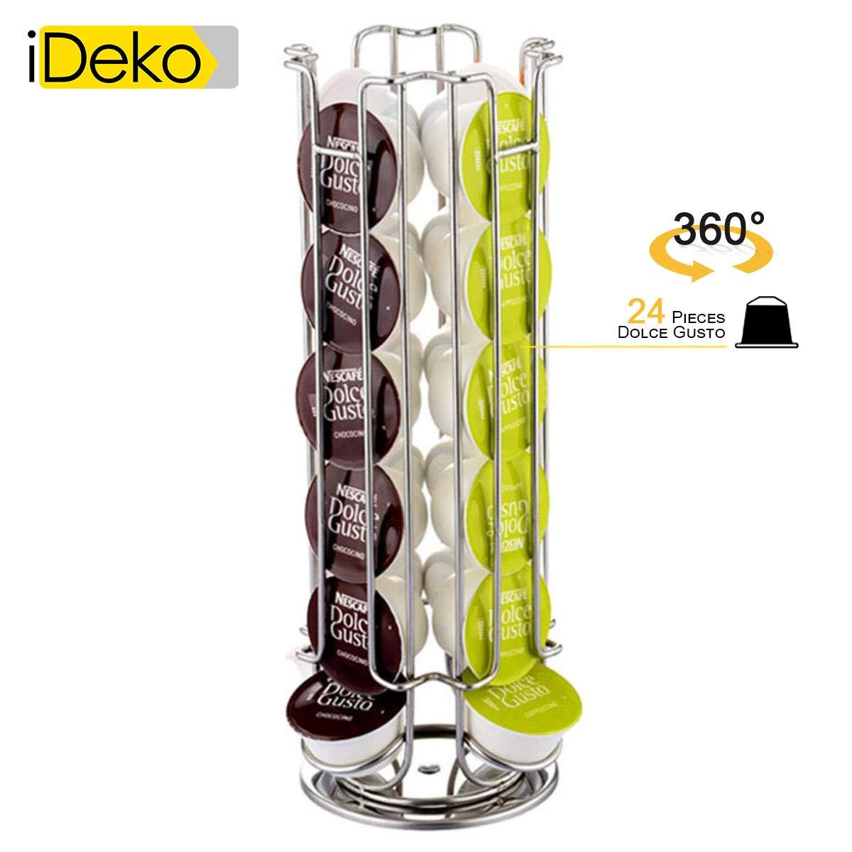 iDeko® Dolce Gusto - Soporte para cápsulas (rotación de 360 grados ...