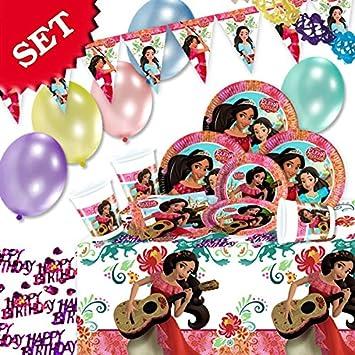 Einhorn Geburtstag Deko Set 52 Teilig Zum Kindergeburtstag Madchen