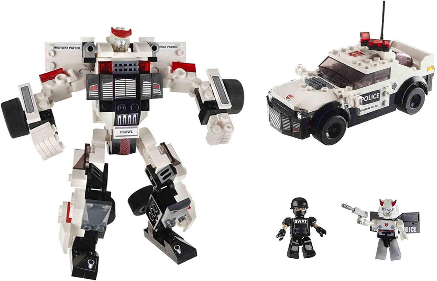PROWL 149 pieces includes 2 Kreons Transformers Kre-o Building Toy Hasbro 2015