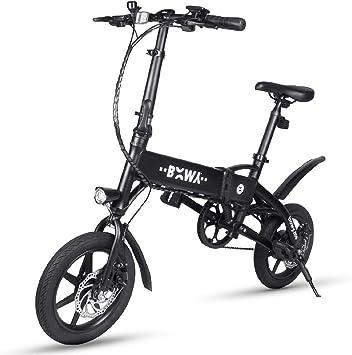Chen0-super Plegable Bicicleta eléctrica Ligera Aviación Aluminio ...