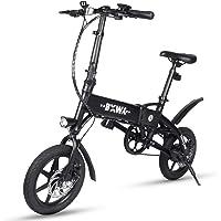 BOWY Vélo Electrique Pliable pour Adulte Homme Femme Velo Pliant 36V 240W en Aluminium avec LED