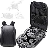 Honbobo Plecak z twardą skorupą torba do przechowywania dronów DJI FPV i akcesoriów, wodoodporna torba na dron