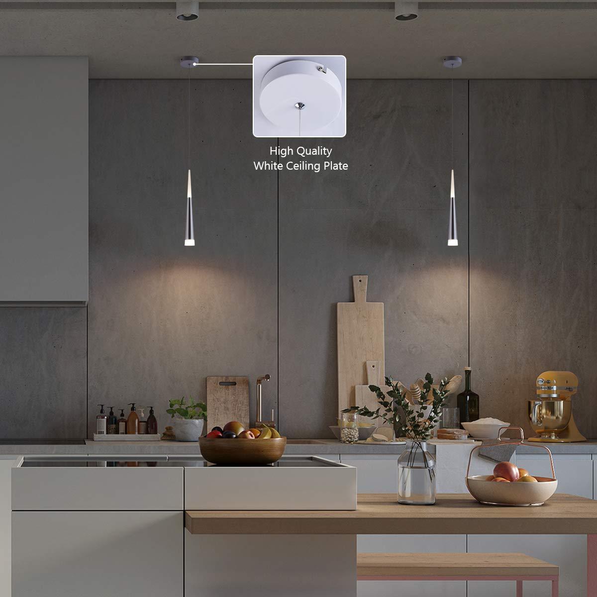 Amazon.com: Bewamf - Lámpara de techo con forma de mini isla ...