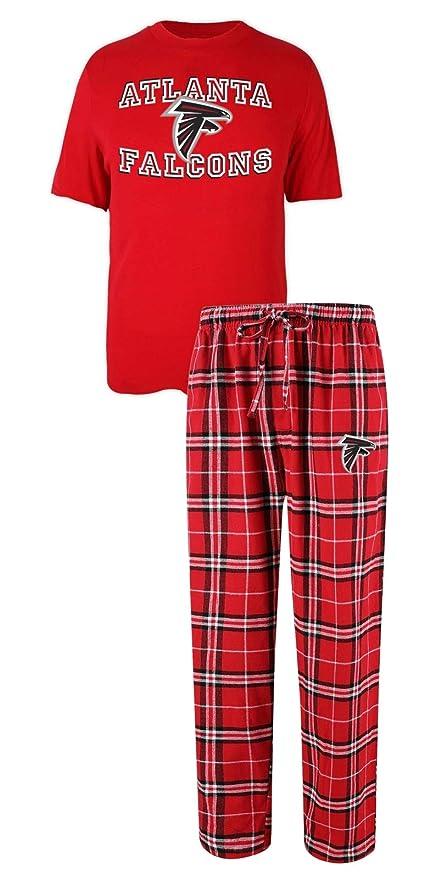 8d680edb Concepts Sport Atlanta Falcons NFL Great Duo Men's T-Shirt & Flannel Pajama  Sleep Set
