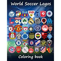 World Soccer Logos: World football team badges of the best clubs in the world, this coloring book is different as in the colored badges are on the 80 teams to enjoy. Great for kids and adults.