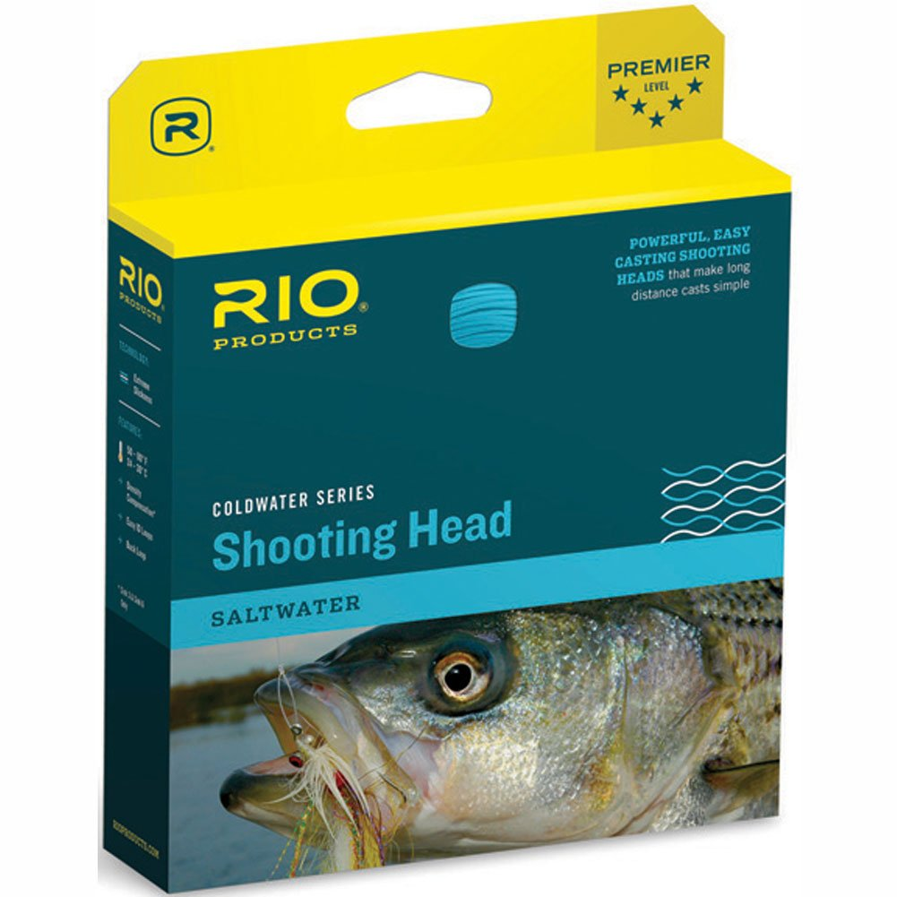 RIO Outbound Cold Water Short Shooting Head Intermediate WF9I Clear
