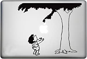 Unofficial GivingTree MacBook Pro Decal is a Giving Tree Decal. Available in 11, 12, 13 and 15 inch Laptop Sizes. Looks Great with Your Giving Tree Decals Theme. Many Colors-Black