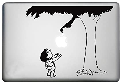 f2dcba18cc5 Unofficial Giving Tree MacBook Pro Décor Decal is a Giving Tree Art Decal.  Laptop Sizes