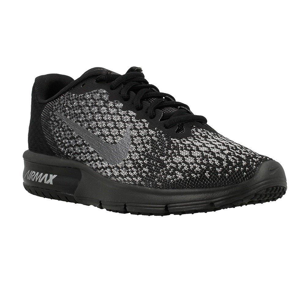 MultiCouleure (noir   Mtlc Hematite   Dark gris   Wolf gris 010) Nike WMNS Air Max Sequent 2, Chaussures de Running Femme 35 EU