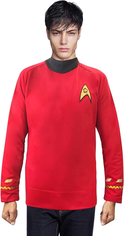 Star Trek Movie Scotty Engineer Red Shirt Child Costume