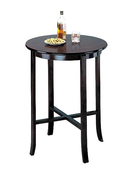 Merveilleux ACME Espresso 30u0026quot; Dia Pub Table, ...