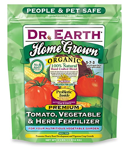 Dr. Earth Organic 5 Tomato, Vegetable & Herb Fertilizer Poly Bag