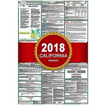 california labor laws 2018 poster