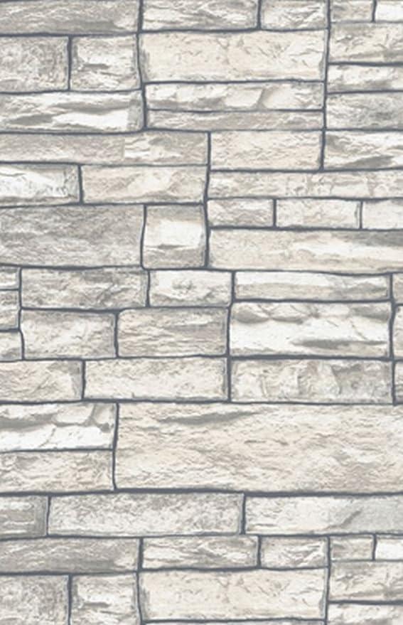 Erismann Embossed Brick Textured Realistic Blown Vinyl Brick Pattern Wallpaper