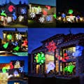 Comkes Christmas Projector Light Bright Led Landscape Spotlight Indoor Outdoor Waterproof Projection Led Lights Christmas Decorations