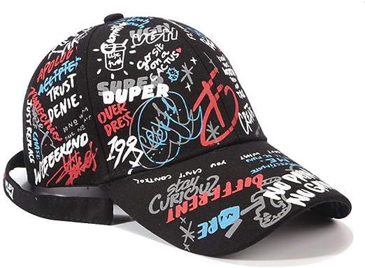 LZX Gorra de béisbol Ajustable Alfabeto Graffiti Diseño Original ...