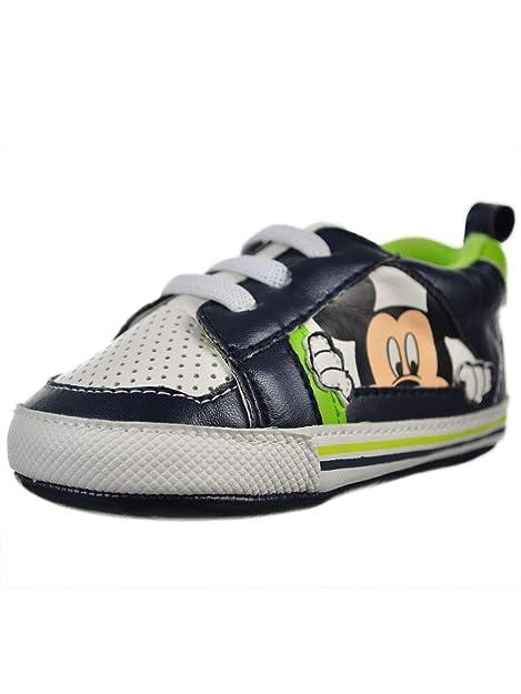 Disney Mickey Mouse - Zapatillas sin Cordones para niños, (Colores ...