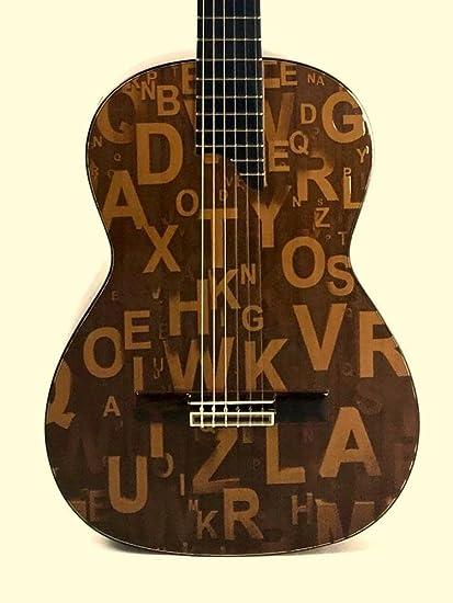 Guitarra TOLEDO TT-2CZ LETRAS: Amazon.es: Instrumentos musicales