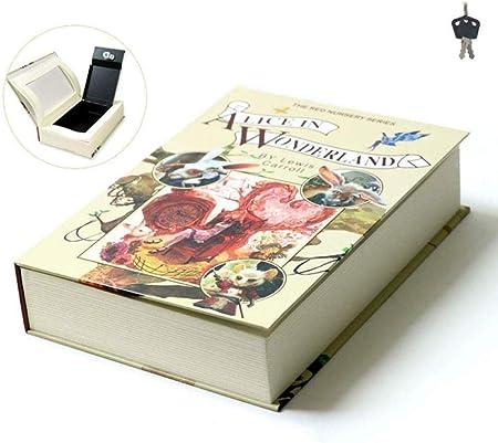 ANXWA Libro Seguro Libro Seguro Caja Fuerte para Libros Caja con Llave Diccionario Diversion Money Box Caja Fuerte Portátil Caja Falsa Caja De Almacenamiento Segura Caja De Joyas,3: Amazon.es: Hogar