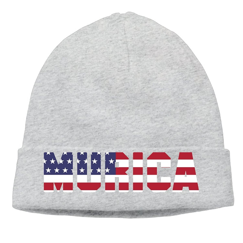 Murica Fourth Of July Usa Men & Women Hip-Hop Beanie Skull Cap Hat