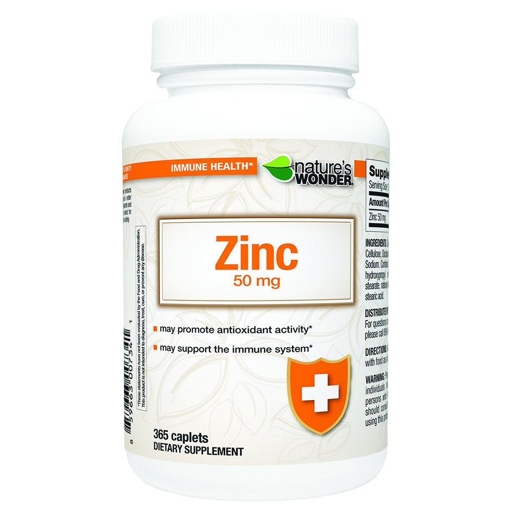 I wonder what products contain zinc 61