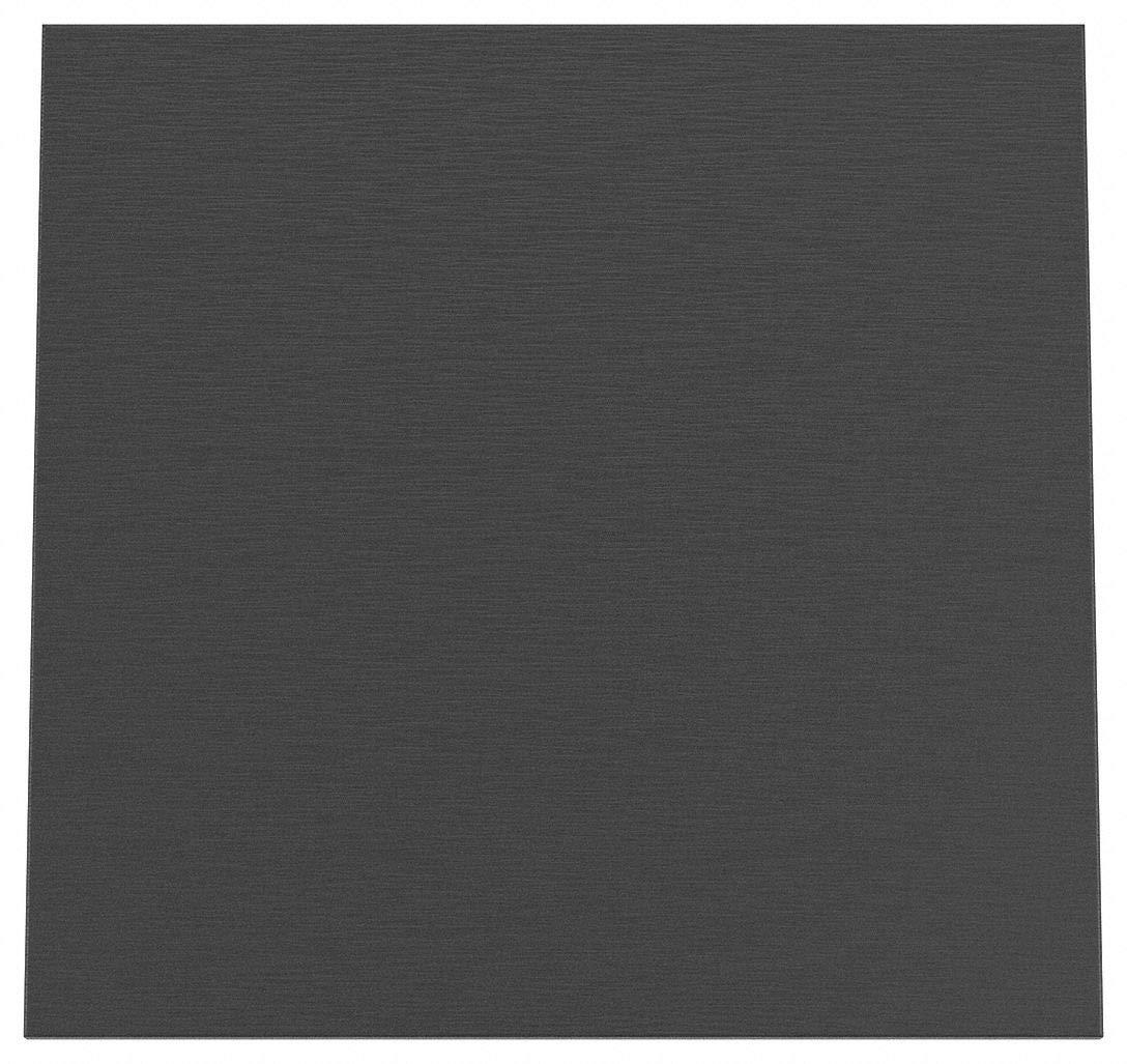 3//16 Comm 50A Black 12x24 Grade Buna-N Rubber Sheet
