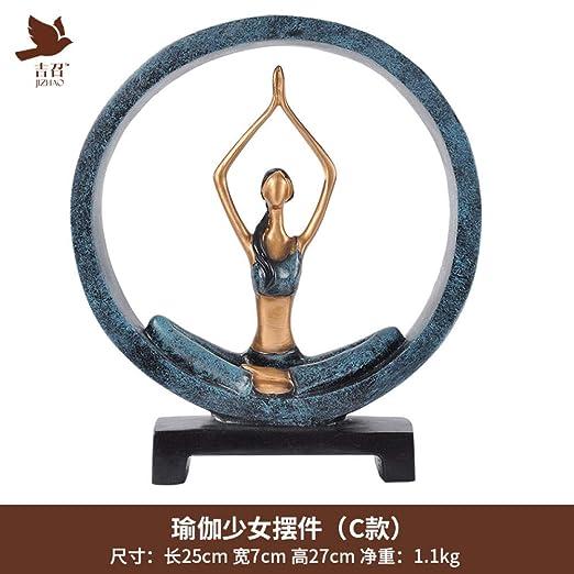 Willower Adornos De Yoga para Niña, Decoraciones Creativas ...