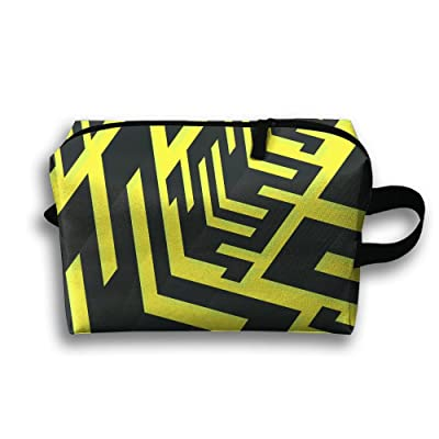 Abstract Creative Geometry Pattern Multifunction Portable Pouch Waterproof Travel Bag