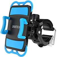 Bike Mount, CHOETECH Universal Bike Phone Holder 360 Degree Rotation Compatible with iPhone Xs Xs Max/XR/X/8 Plus/8, Samsung Galaxy S10 Plus/S10/S9, Redmi 6 Pro/6A/5, Huawei and More