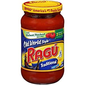 Ragu Old World Style Traditional Pasta Sauce 14 oz - 12 Pack