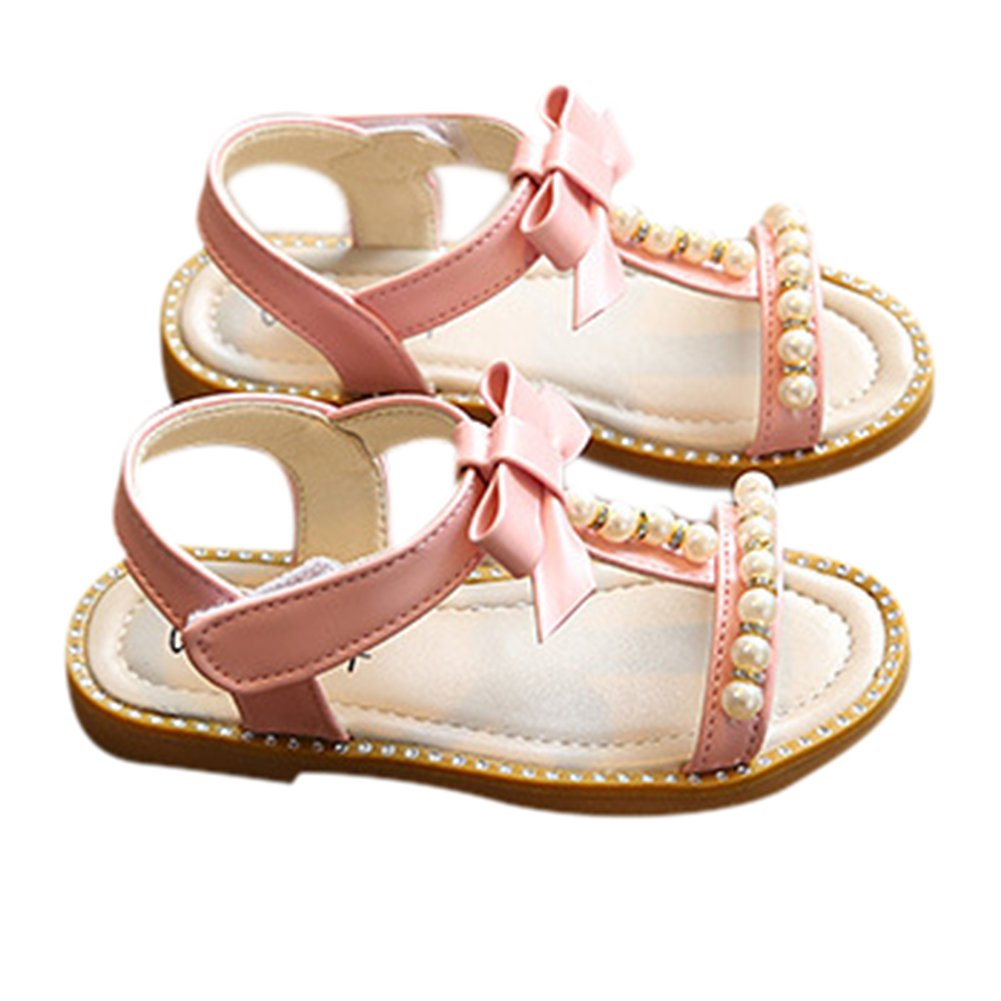 GETUBACK Kids Toddlers Girls Princess Sandals with Peals