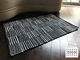 LOOMAGE INDIA Denim rug【Japan Produce】26.1×38.4inch