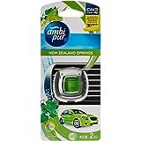 Ambi Pur Car Mini Clip Car Air Freshener New Zealand Springs 2mL