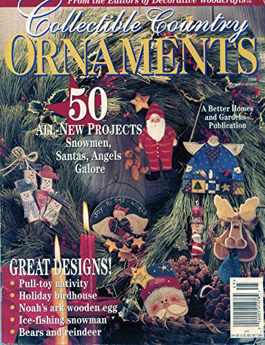 Country Collectibles Ornaments (Collectible Country ORNAMENTS 1994)