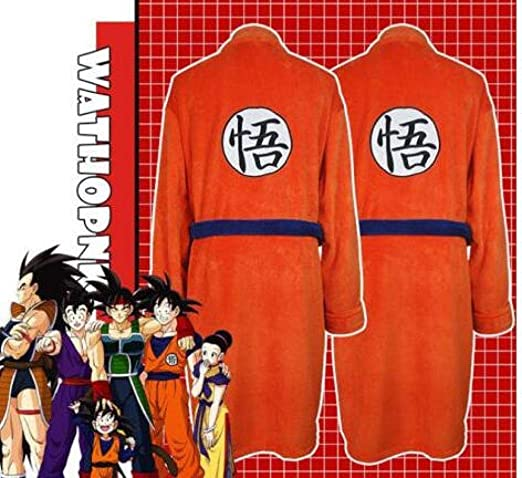 Shcro Patrón De Adultos Albornoz Cosplay Dragon Ball Son ...